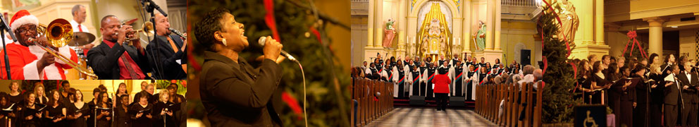 St Louis Cathedral Holiday Concerts Header Image