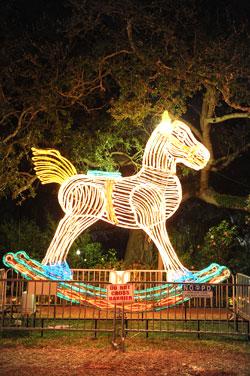 Celebration In The Oaks Light Horse Image